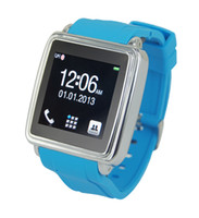 Wholesale 1 touch screen smart watch phone with bluetooth for Android