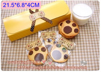 Wholesale cake cookie macaron paper boxes and packaging for wedding festival party cm