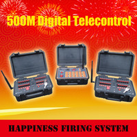 Wholesale 500M Range Control channels Wireless Remote Control Firing System rechargeable fireworks firing system DBR02 X24