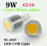 Wholesale 2013 High Power GU10 W COB Led Bulb Light Lamp LM Warm White Led Spot Downlight Lamp F V