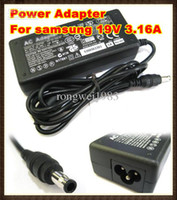 Wholesale CHpost V A W mm mm For AC Power Laptop Notebook Computer SAMSUNG Charger RW PC