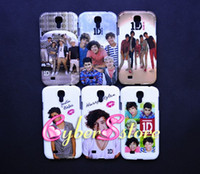 Plastic justin bieber - 100pcs Popular Justin Bieber D One Direction One Band Hard Plastic Case Cover For Samsung Galaxy S4 S IV i9500