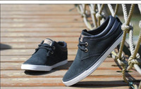 Wholesale 2014 New Arrival Men Canvas Summer Shoes Fashion Casual Lace Up Low Heel Solid Color Breathable Sneakers Colors CJ7 JJ