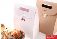 Wholesale Cupcake paper box muffin cake box cake container food packaging for wedding and festival party cm