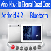 Wholesale Ainol Novo10 Capatain Eternal Quad Core Android ATM7029 GB GB Bluetooth HDMI IPS Tablet PC Dual Camera