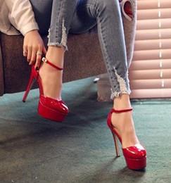 Chaussures habillées pour les femmes prix en Ligne-Prix bas Lot Livraison gratuite 0702S11 de femmes robe chaussures chaussures de mariage Stiletto haut talon rouge Couleur Noir