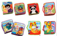 cloth doll - Hot sell Lamaze Cloth Book Books Lamaze Toy Early Development Toy stroller music Baby doll toy Cloth bag CE