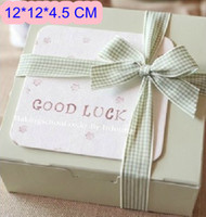 Wholesale Moon Cake Cupcake Paper Boxes And Packaging For Wedding Festival Party cm