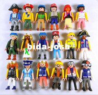 Wholesale 5 pack Playmobil Figures Knights People Horses Native American Random Child Toy
