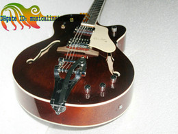New Custom Shop classic 6120 brown Guitars Custom Orange jazz electric guitar Customize any color Guitar OEM guitar