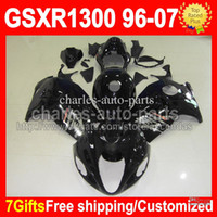 7gifts+ Tank ALL Black For SUZUKI Hayabusa GSXR1300 GSX- R1300...