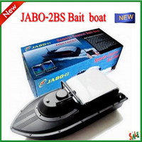 Wholesale 2013 JABO BS Remote Control Bait rc boat With Fish Finder Upgrade JABO B sbb RC Fishing Boat t300