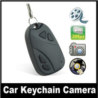 None audio car camcorder - Spy Car Key Chain Keychain Camera DVR Covert Video Audio Recorder Hidden Mini DV Cam Camcorder