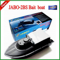 Wholesale JABO BS Remote Control Bait rc boat With Fish Finder Upgrade JABO B Jabo bs b RTR RC boat with discount by dhl ems fast shiping
