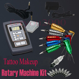 Wholesale Permanent Tattoo Makeup Rotary Machine Kits Needles Assorted Tattoos Supply
