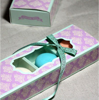 Wholesale Macaron gift packing cookie cholocate cardboard boxes for wedding and festival party cm