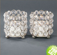 Wholesale 111111crystal glass votive candle holder for home amp wedding amp party decor with out candle