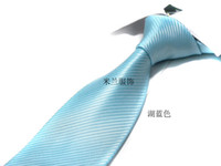 Black Neck Tie  New Arrival ! Top Quality solid Striped Silk Men's Formal Tie Shirt Tie 1 Pcs E002