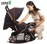Cheap New Folding baby stroller all lying UV baby stroller baby stroller luxury baby stroller triple multifunction third gear