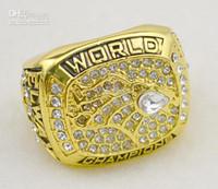 Envío libre 1997 anillos de campeonato Denver