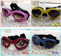 Wholesale NEW Pet Dog UV Goggles Sun Glasses Sunglasses Eye Wear Protection