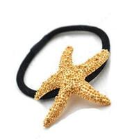 Wholesale Starfish Headbands fashion Hair Clips high quality jewelry wedding Hairpin