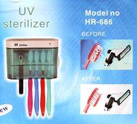 Wholesale Brand New UV Toothbrush Sanitizer Sterilizer Toothbrush Holder Toothbrushes Cleaner Plastic Portable Bathroom Box