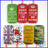 Wholesale Keep Calm and Carry Me Home Carry On Sexy Hard Case For Samsung Galaxy S3 i9300 S3 Case Cover