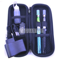 Wholesale Ego Electronic Cigarettes Full color Electroplating mah Battery with CE4 Atomizer Double Pens Best Selling