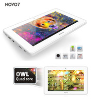 Wholesale 7 inch Ainol novo Crystal Quad Core Android Jelly Bean JellyBean GB DDR3 GB WIFI HDMI Capacitive tablet pc White black