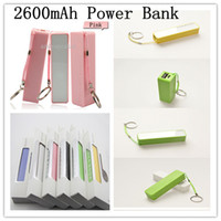 Wholesale Power bank Charger mAh External Portable Battery Sweet Smell color Mobile Power Bank charger with retail box up