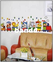 other best pleasure - mix The best price HL Cartoon Pleasure Ground Wall Sticker Wall Mural Home Decor Room Decor Kids Room