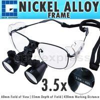 Wholesale NDL N x Magnification Dental Surgical Medical Binocular Loupe Dentistry mm Nickel Alloy Frame
