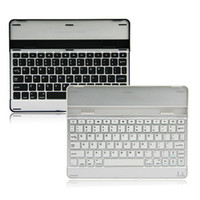 Wholesale New Mobile Aluminum Bluetooth Stand Keyboard Case For Apple ipad th rd nd