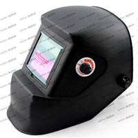 Wholesale LLFA580 Fully Automatic Auto Darkening Mig Tig Mag Welding Helmet Welder Mask solar cell