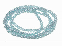 Professions, Hobbies aqua beads wholesale - BDC6 Free P amp P mm Aqua Glass Loose Pearl Miracle Beads Spacer Charms Jewelry Bracelet Necklace Findings DIY