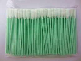 Wholesale 500 Small Foam Cleaning Swabs for Canon Roland Mimaki for Epson Printer Cleaning Swabs Swab