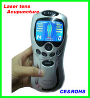Wholesale 2013 newest design E Tong Laser tens Acupuncture digital Therapy Machine massager pass CE and ROHS