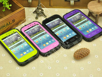Wholesale Redpepper Waterproof Case for Samsung Galaxy S3 i9300 Dust Snow Proof Water Proof Cases with Retail Package Colors Fully Tested pc