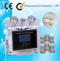 Wholesale Technical Ultrasound KHz Ultrasonic cavitation RF Beauty Machine for Weight Loss Beauty Salon use with oriented BIO electric Pads AU
