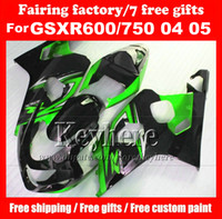 Free 7 gifts custom fairing kit for SUZUKI GSXR 600 750 04 0...
