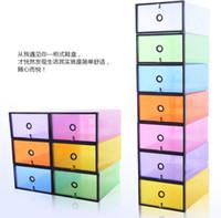 Wholesale New Arrival Thickened Plastic Shoe Box Transparent Clear Shoebox Lady s Size cm