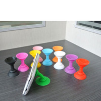 apple bobbin - bobbin winder soft silicon holder Octopus rotating sucker stand for smart android cell phone apple iPhone S samsung Galaxy S3 S4 HTC