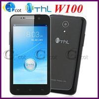 THL 4.5 Android THL W100 W100S MTK6582 android cell phone Quad Core 1.2GHz Android 4.2 Os 12.6 MP Camera 4.5'' Screen smartphone