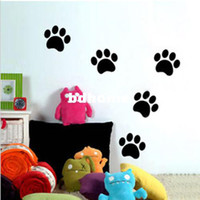bear art prints - Bear Paw Print Kid Bedroom Living Room Decor Mural Art Vinyl Wall Sticker Home Window Decoration Decal W063