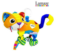 Wholesale Lamaze Mittens the Kitten Baby Crib Toys amp Infant Early Educational Toy Cat Doll Bed Bell Bed Ring