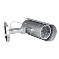 Wholesale waterproof Realistic indoor outdoor Fake Dummy IR Security Camera with Blinking red LED motion detector