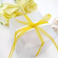 Wholesale New Arrivals cm cm cm Matte Wedding Favor Box Gift Candy Boxes Wedding Decoration