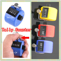 Wholesale New Hand Held Tally Counter Digit Manual Clicker Palm Golf Tally ABS Plastic