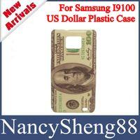 Wholesale 1PC Latest Design Retro Money Paper Design USD Dollar Hard Plastic Skin Case for Samsung Galaxy S2 SII I9100 SS